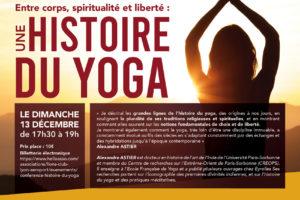 Histoire de yoga